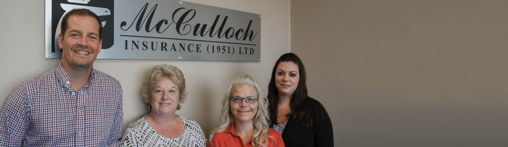 McCulloch Insurance - Our Team of Experts Page